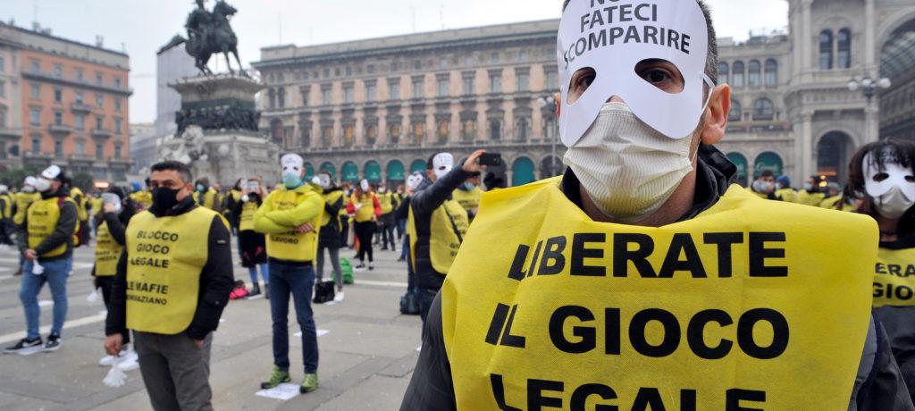 L'11 maggio a Roma nuova manifestazione del gioco legale per riaperture