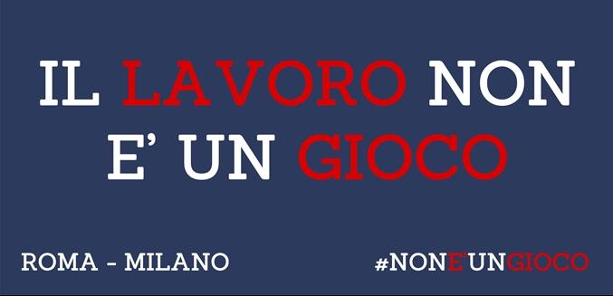 ATI Gioco Lecito: i dettagli per partecipare alle manifestazioni di Roma e Milano