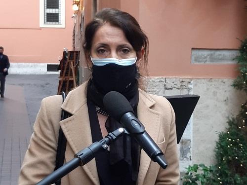 Emi Rebus, GiocareItalia e Sapar incontrano Carla Ruocco (M5S) a margine della protesta
